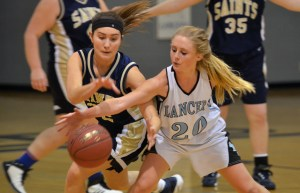 Gallery: Sophomore Girls' Basketball vs St. Thomas Aquinas
