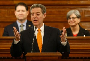 "Brownback Gives Annual ""State of the State"" Speech"