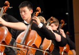 East Holds Orchestra Collage Concert