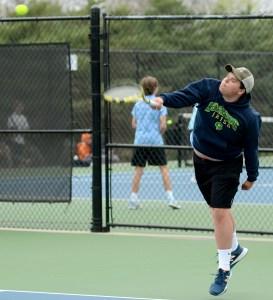 Gallery: JV Boys Tennis Match vs Shawnee Mission South