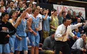 Boys' Varsity Loses 54-59 in Sub State Championship vs. Lawrence High School