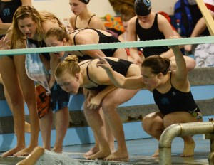 Girls' Swim Wins Sunflower League