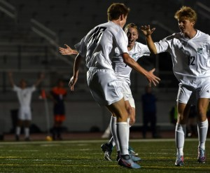 Gallery: Boy's Varsity Soccer vs Olathe East