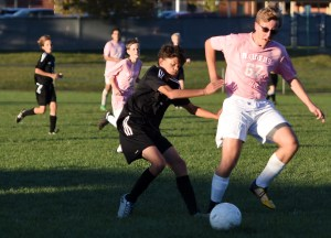 Gallery: Boys Blue Team Soccer vs. SMS