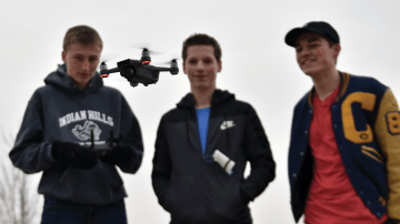 """Sophomores Start """"KC Drone Dudes"""" Drone Company"""