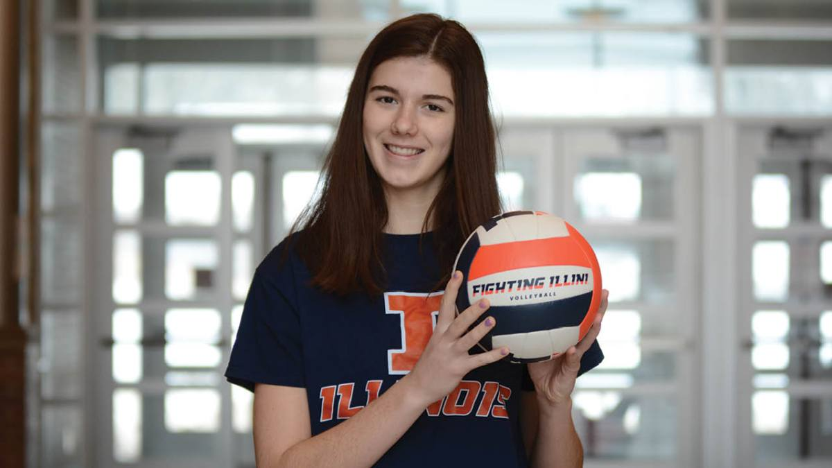 Illinois Volleyball Commit: Sarah Bingham