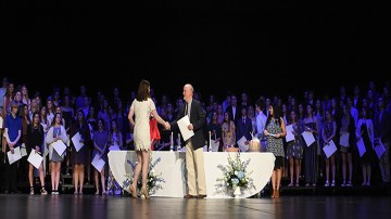 National Honors Society Induction Ceremony