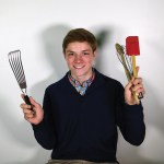 Senior Dane Erickson pranked his family by rearranging their kitchen, without them knowing. Photo by Katherine McGinness