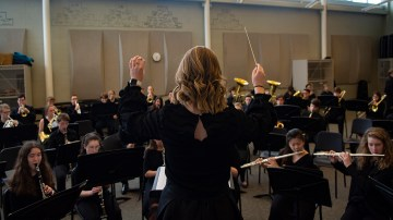 Symphonic and Concert Band at Large Group Festival