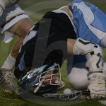 Sophomore Will Wynn gets tripped by his defender, the fights for the ball back. Photo by Noelle Griffin