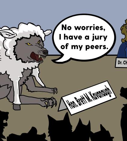 Editorial Cartoon: Issue 6 | The Harbinger Online
