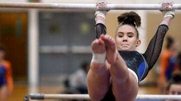 Raising the Bar: Gymnastics Team Aims for Placing at State