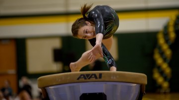 Gallery: Varsity Gymnastics Competes at All Around Meet