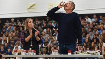 Gallery: Student Council Hosts the Can Drive Pep Assembly
