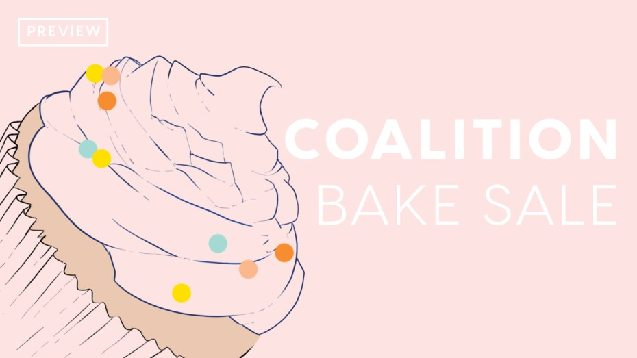 Coalition's Annual Bake Sale
