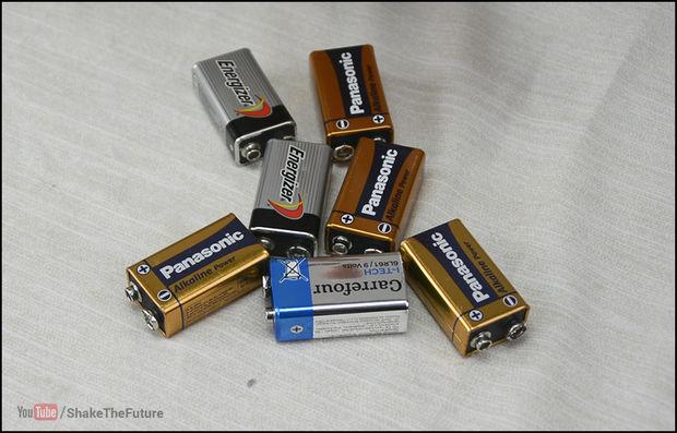 Куча батарей