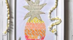 Картина-ананас