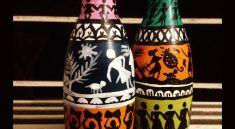 Разрисованные бутылочки
