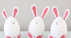 Кролики из яиц