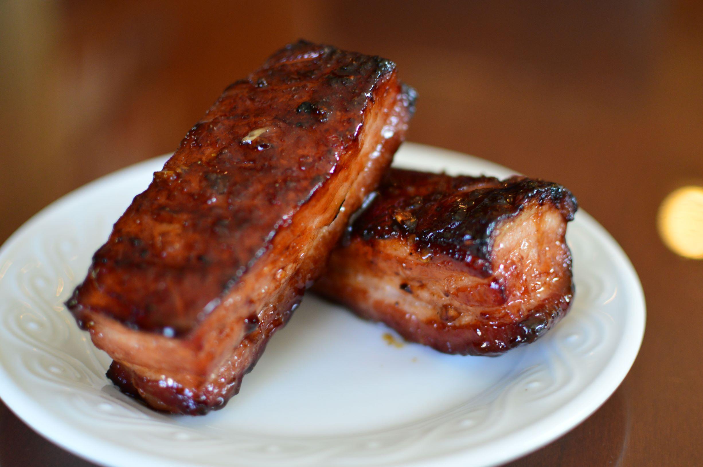 Smoked Chinese Char Siu (BBQ Pork Belly)