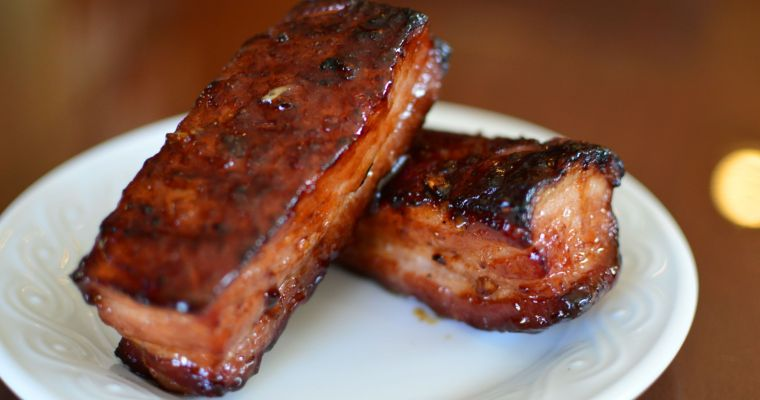 Smoked Chinese Char Siu (BBQ Pork Belly)