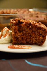 Ginger Gingerbread Cake