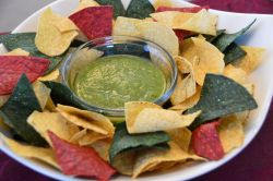 Salsa Verde and Chips