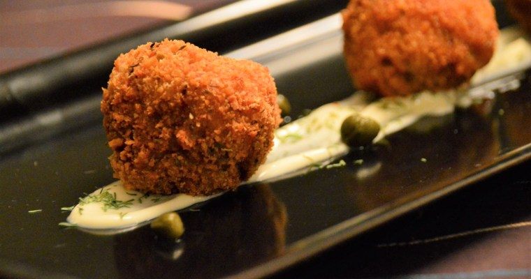 Oyster Boulettes (Fried Oyster Balls)