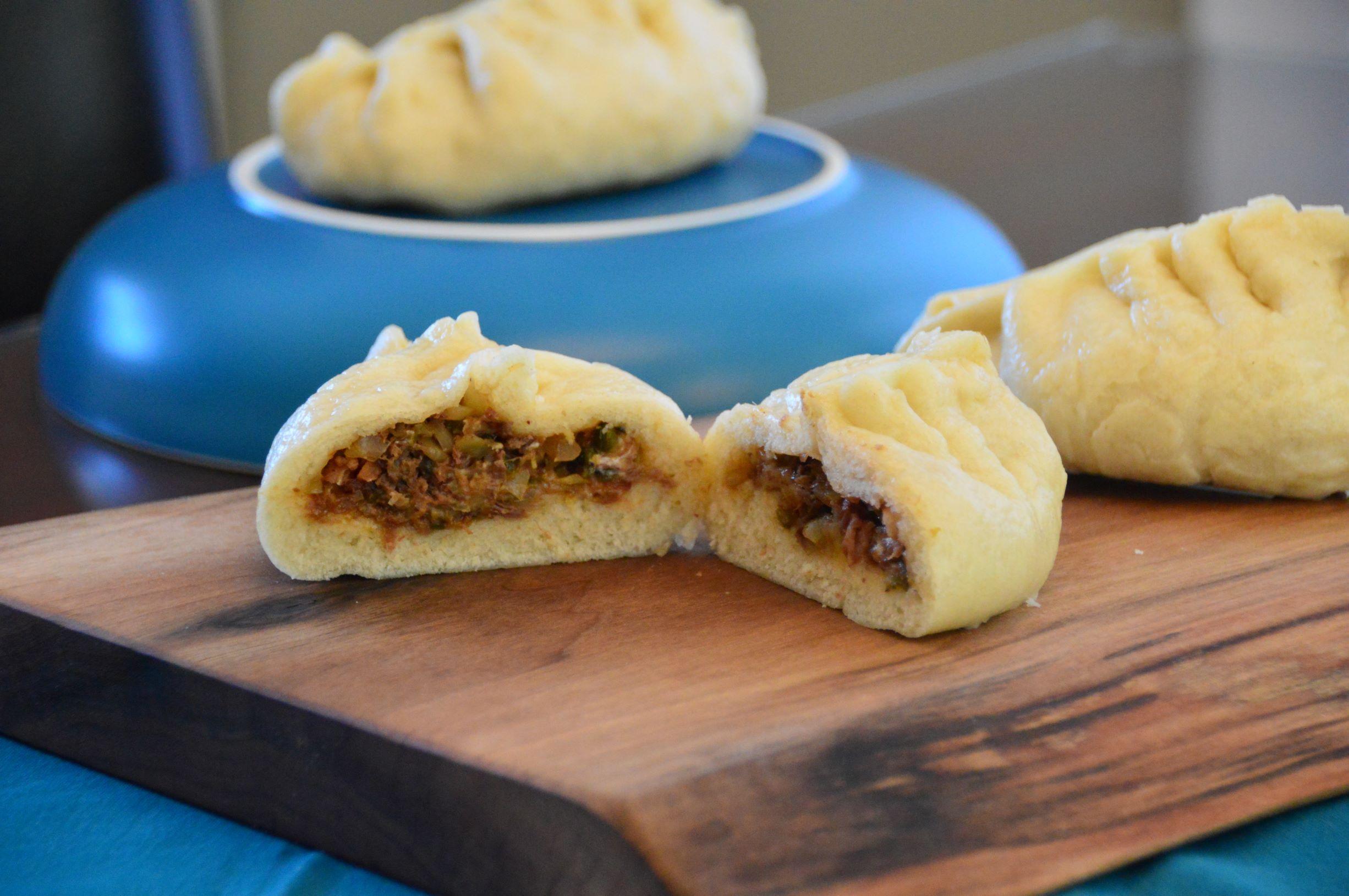 Texas Twinkie Steamed Bao