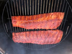 Baby Back Ribs on Grill