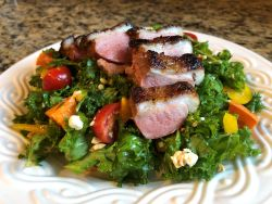 Cold Pan Duck Breast