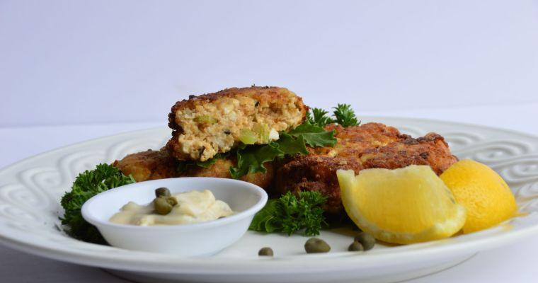 Crab(less) Tofu Cakes