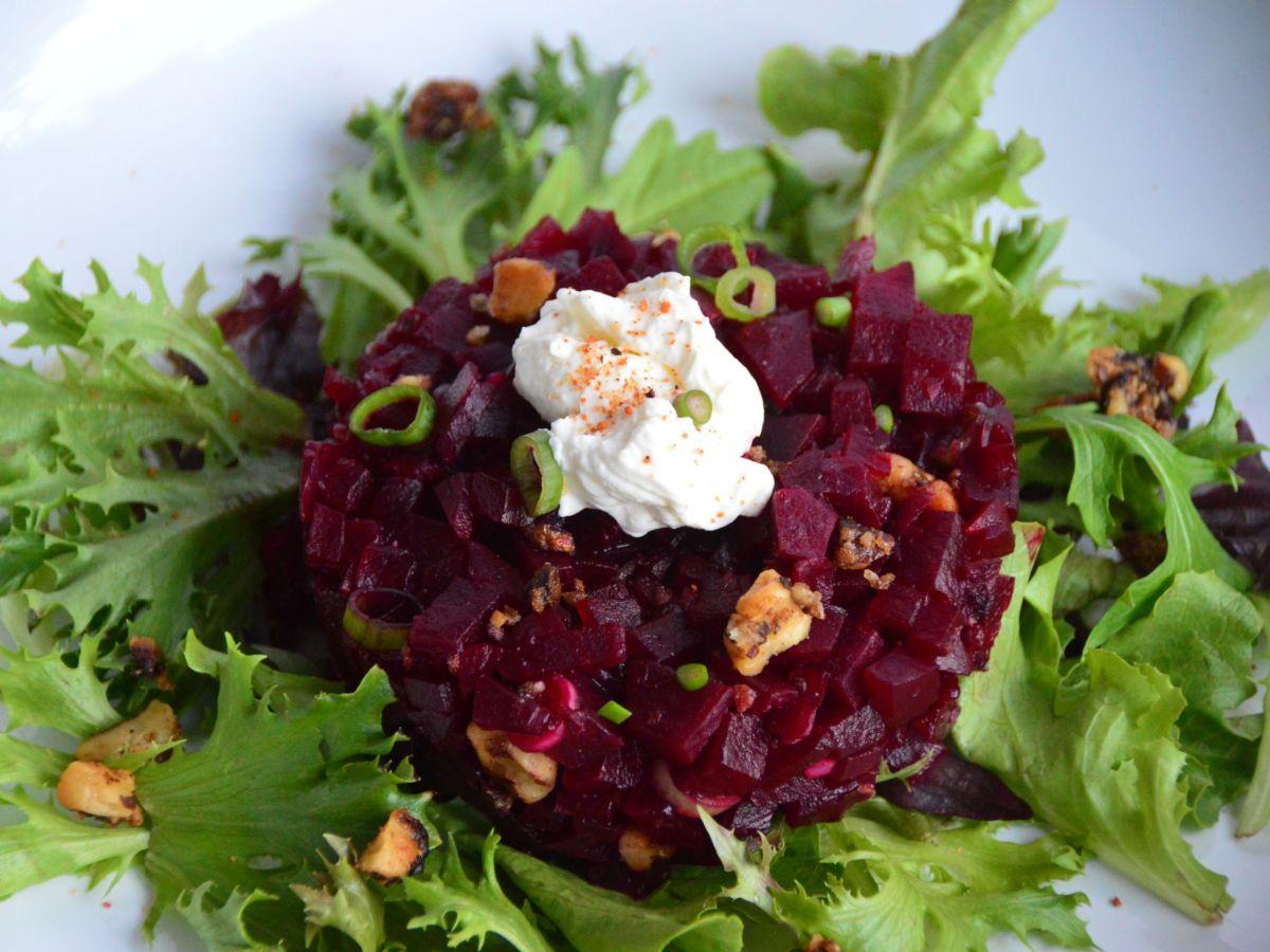 Beet Tartare Salad