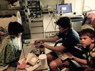 15 01 T1D hospital AJ Bro