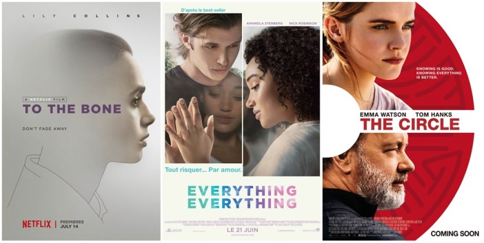 Ciné club #43: To the bone, Everything everything et The circle