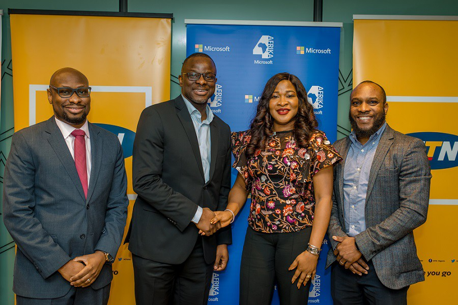MTN Partners Microsoft to Promote Scalable Initiatives for Nigerian SMEs