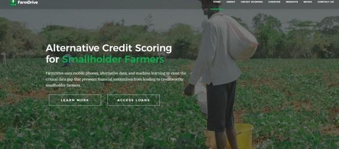 Farmdrive website screenshot - Smepeaks