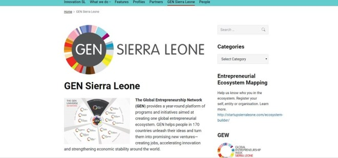 Global Entrepreneurship Freetown - Smepeaks