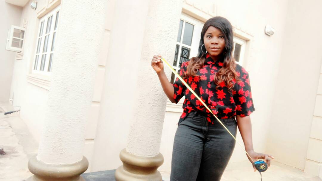 """No Make-Up, No Job!"" The Story of Nigeria's First Female Modern Railings Engr. Will Amaze You"