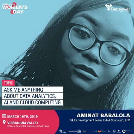 Aminat Babalola, IBM - Fempower IWD Event Speakers