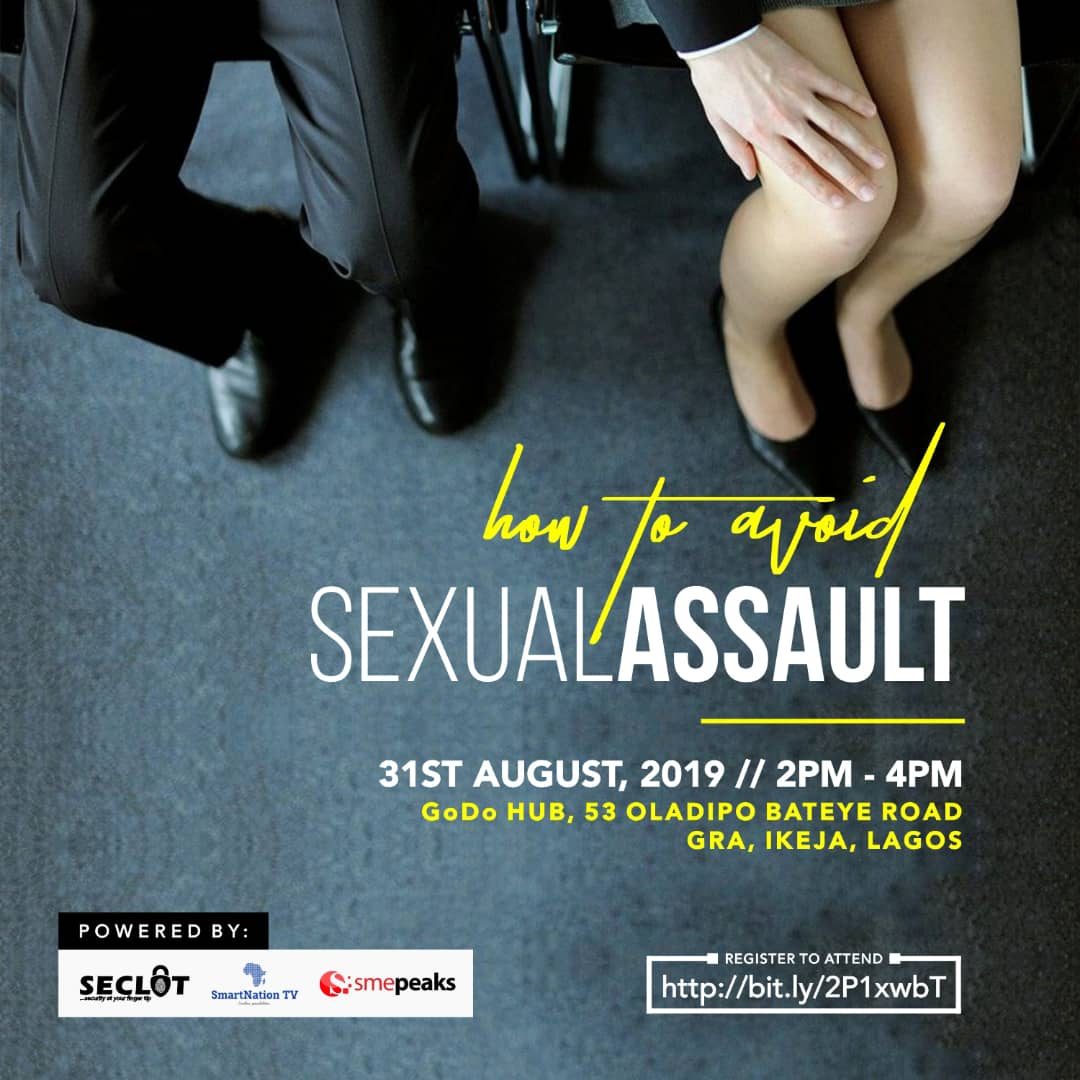 seclot mobile app sexual assault event flier
