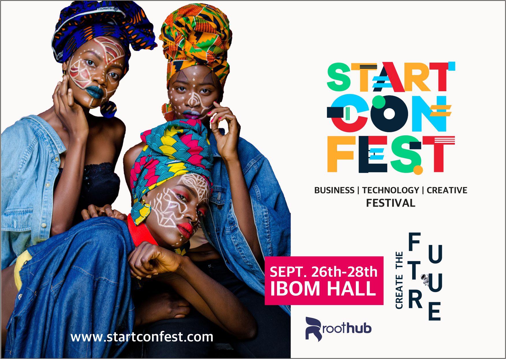 startconfest 2019 flier