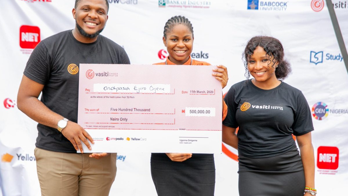 The ₦500,000 grant and all that happened at Vasiti Career Fest'20 — Babcock Edition
