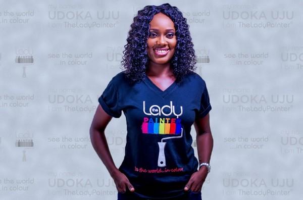 Udoka-Uju-Nigerian Lady Painter