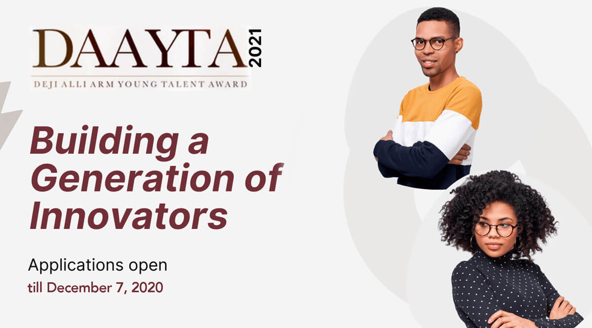 Young Nigerian talents are invited to participate in DAAYTA 2021