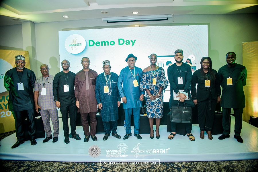 NCDMB ES, Engr. Wabote and other Execs at NOGTECH DEMO DAY 2020