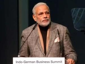 Germany-India Relation must Bring Economic Development: PM, Narendra Modi