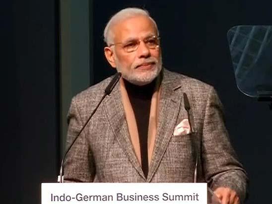 Germany-India Relation must Bring Economic Development: PM, Narendra Modi