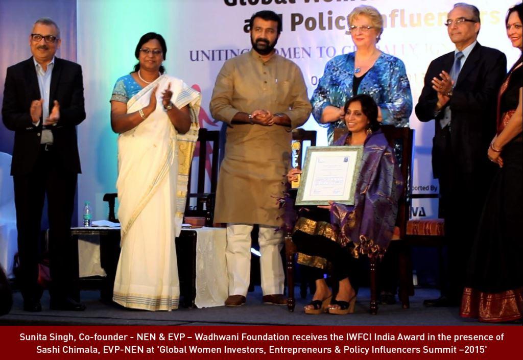 NEN Bags 'IWFCI-INDIA AWARD'