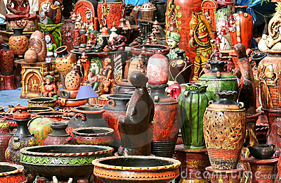 Artistic Showcase at National Handicrafts Fair